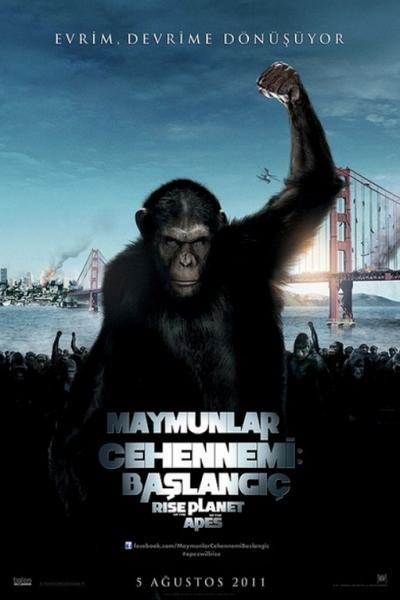 Maymunlar Cehennemi 1: Baslangiç