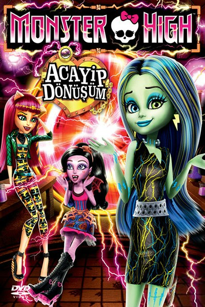 Monster High Acayip Dönüşüm