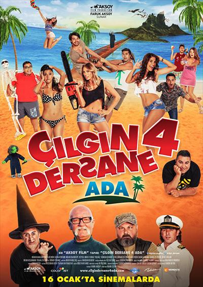 Çılgın Dersane 4: Ada
