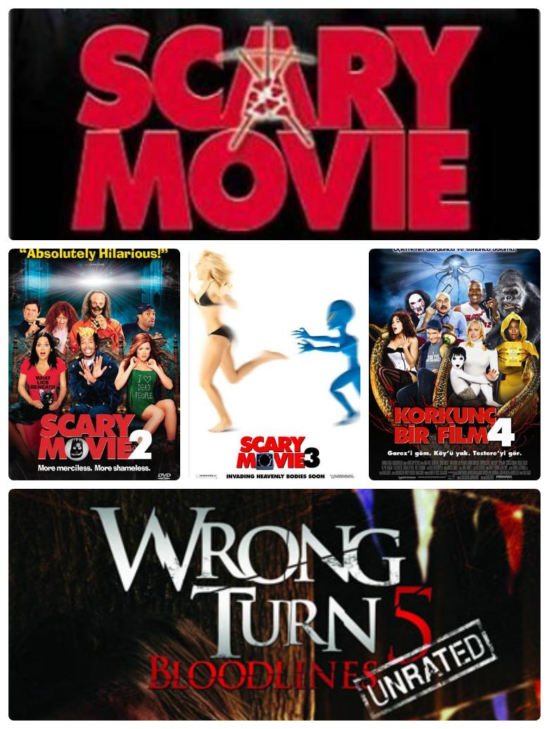 Korkunç Bir Film 1-2-3-4-5