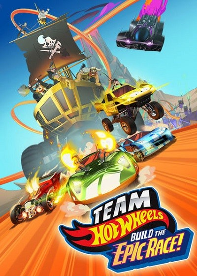 Team Hot Wheels Build the Epic Race