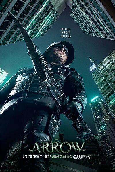 Arrow: 5.Sezon Tüm Bölümler
