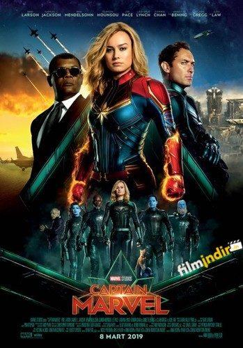 Kaptan Marvel Türkçe Dublaj indir